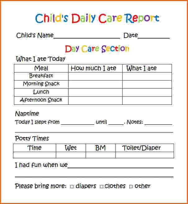 Printable Weekly Preschool Progress Reports Yahoo Image Search  Pertaining To Preschool Weekly Report Template With Preschool Weekly Report Template