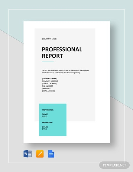 Professional Report Template Word - 11+ Free Sample, Example  Pertaining To Microsoft Word Templates Reports Inside Microsoft Word Templates Reports