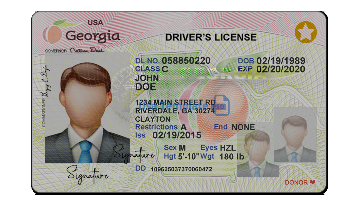 Psd Template :Driver License,Passport,ID Card & Proof of address With Regard To 89 Blank Drivers License Template For 89 Blank Drivers License Template