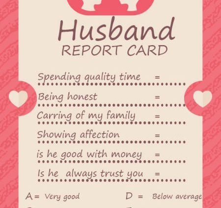 Reportcard Photoshop Template Archives - Template Sumo Throughout Boyfriend Report Card Template