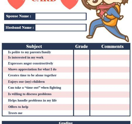 Reportcard Photoshop Template Archives - Template Sumo With Boyfriend Report Card Template With Regard To Boyfriend Report Card Template