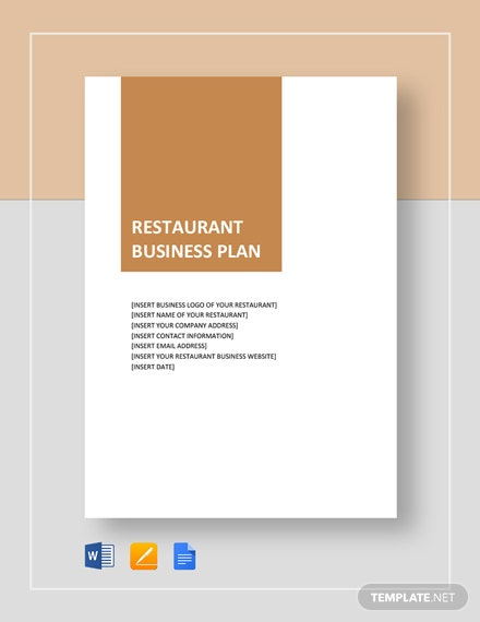 Restaurant Business Plan - 11+ PDF, Word, Google Docs Documents  Intended For Why Write A Restaurant Enterprise Plan Inside Why Write A Restaurant Enterprise Plan