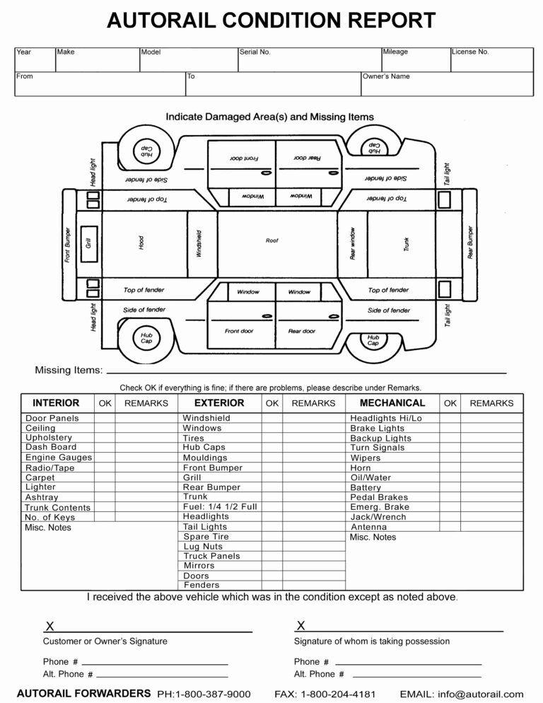 Semi Truck Damage Diagram - Wiring Diagram Replace bite-archive  Inside Truck Condition Report Template Inside Truck Condition Report Template