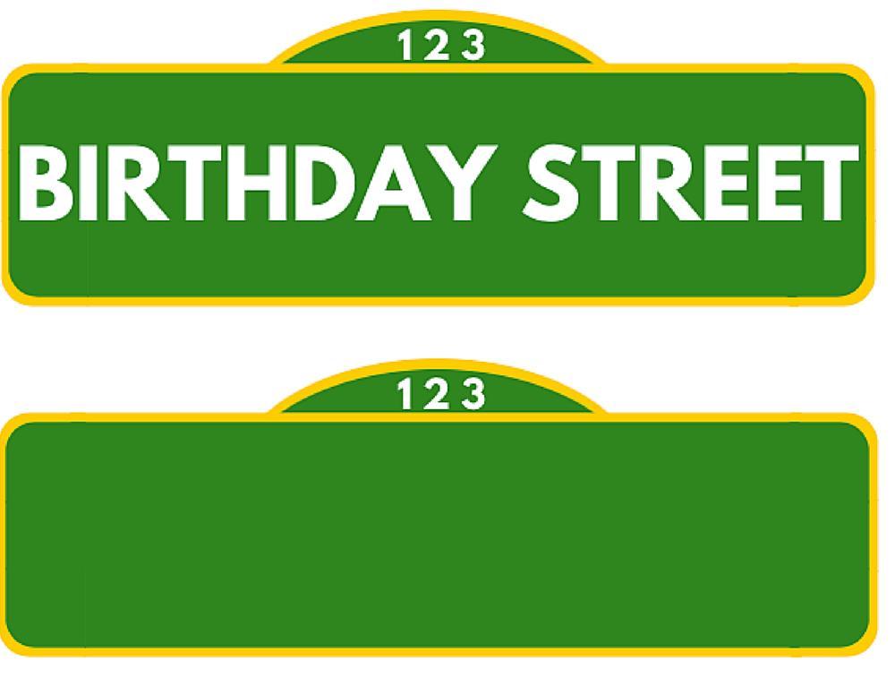 Sesame Street Birthday Banner With Photo – Best Happy Birthday Wishes Inside Sesame Street Banner Template In Sesame Street Banner Template