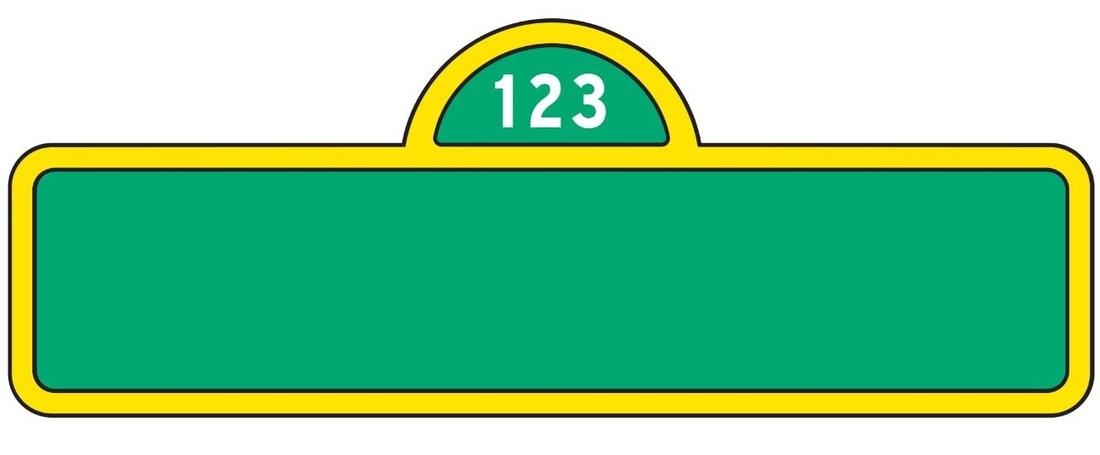 Sesame street Logos Within Sesame Street Banner Template With Sesame Street Banner Template