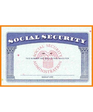 💳 Social Security Card Template PDF - Free Download (PRINTABLE) For Social Security Card Template Pdf Regarding Social Security Card Template Pdf