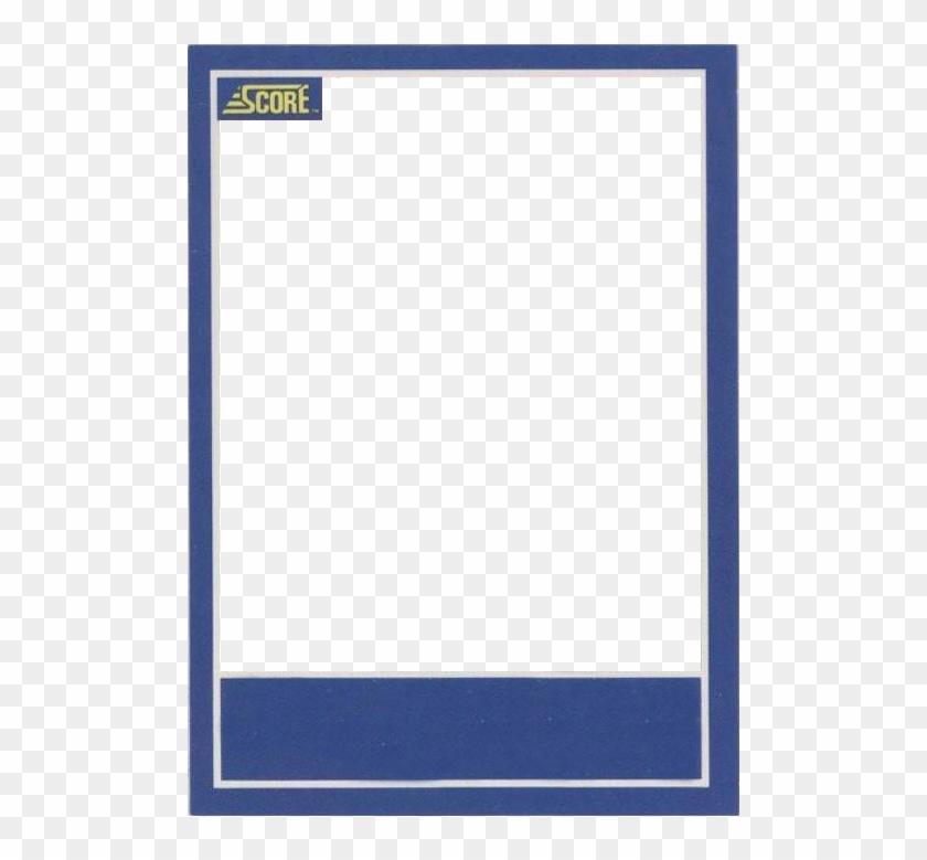 Sports Card Template - Baseball Card Template, HD Png Download  With Baseball Card Size Template Intended For Baseball Card Size Template