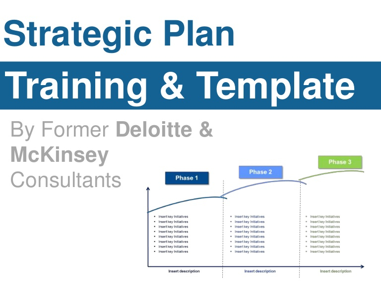Strategic Plan Template For Strategy Document Template Powerpoint For Strategy Document Template Powerpoint
