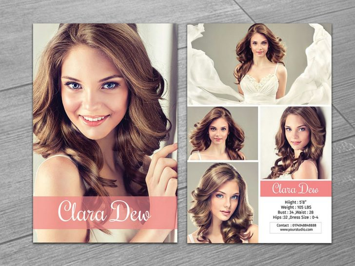 template : Model Comp Card On Behance In Comp Card Template  Intended For Free Model Comp Card Template Psd For Free Model Comp Card Template Psd