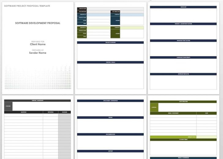 Template: Software Project Proposal Template Intended For Software Project Proposal Template Word
