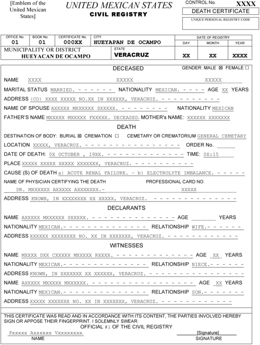 Templating as a Strategy for Translating Official – Meta – Érudit Throughout Mexican Marriage Certificate Translation Template With Mexican Marriage Certificate Translation Template