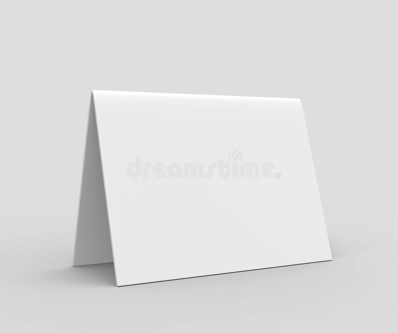 Tent Card Stock Illustrations – 11,9111 Tent Card Stock  In Blank Tent Card Template Pertaining To Blank Tent Card Template