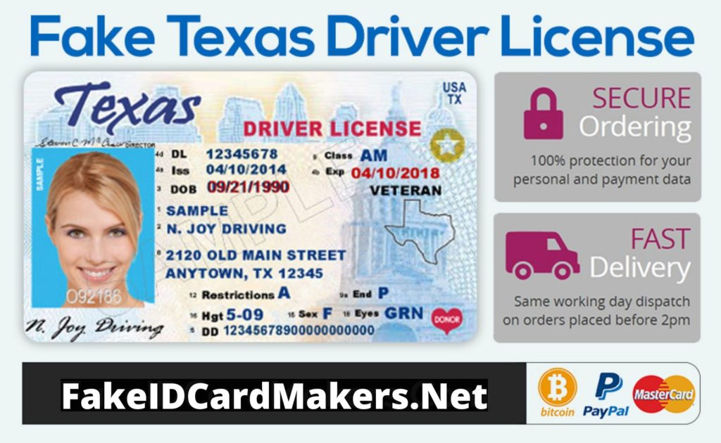 Texas Driver License Template PSD In Blank Drivers License Template