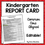 This fully editable Kindergarten Report Card Template is aligned  With Regard To Report Card Template Pdf