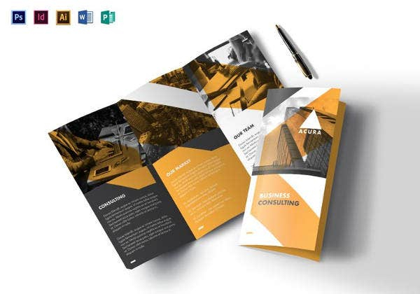 Tri Fold Brochure Templates - 11+ Free PSD, AI, Vector EPS Format  Throughout 3 Fold Brochure Template Free Download Throughout 3 Fold Brochure Template Free Download