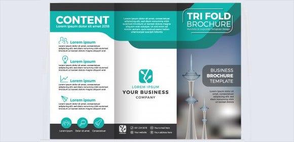 Tri Fold Brochure Templates - 11+ Free Word, PDF, PSD, EPS  For 3 Fold Brochure Template Free Download Throughout 3 Fold Brochure Template Free Download