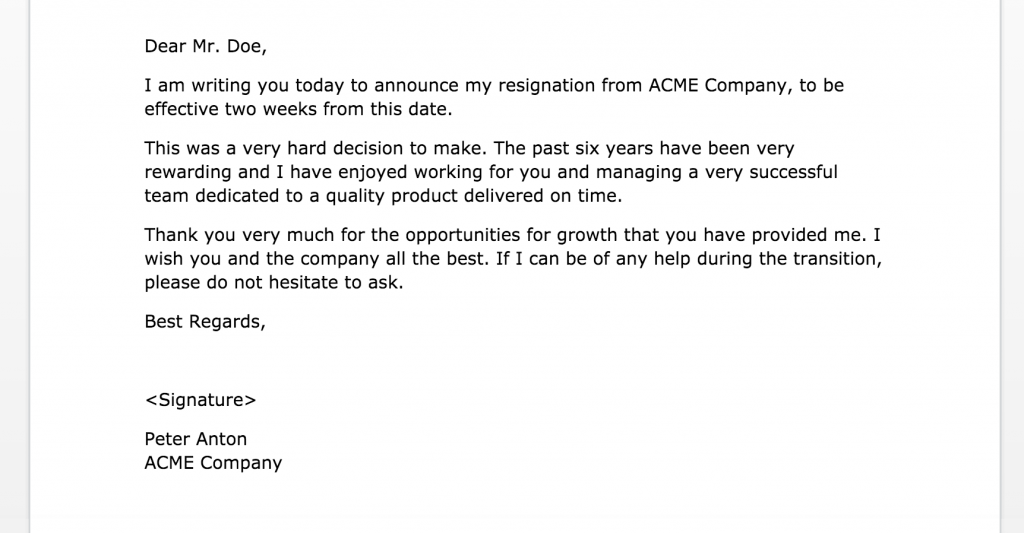 Two Weeks Notice Letters Samples Letter Of Resignation 11×11  Regarding Two Week Notice Template Word Throughout Two Week Notice Template Word