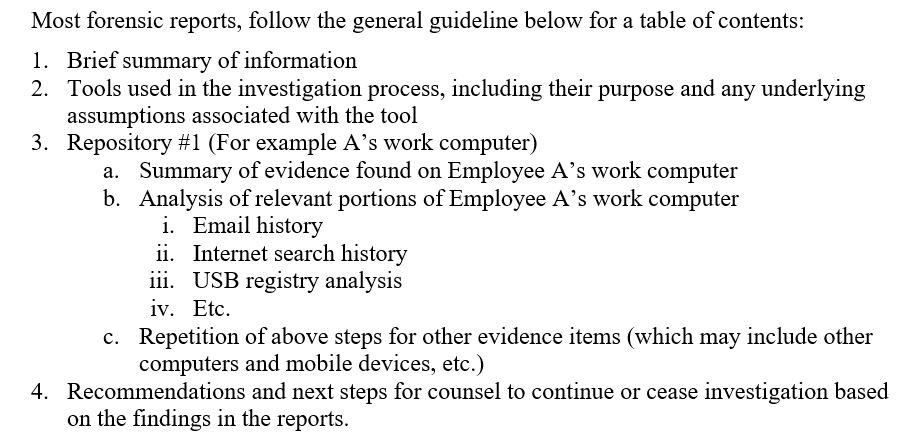 Understanding a Digital Forensics Report Throughout Forensic Report Template Within Forensic Report Template
