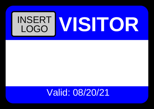 Visitor Name Tag Throughout Visitor Badge Template Word With Regard To Visitor Badge Template Word