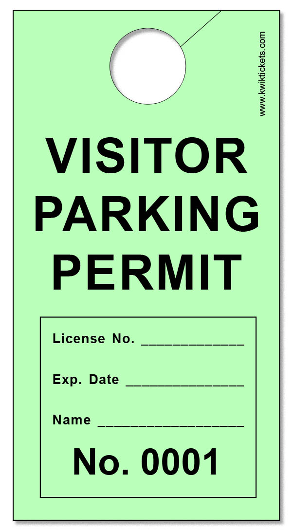 Visitor Parking Ticket Throughout Blank Parking Ticket Template Regarding Blank Parking Ticket Template