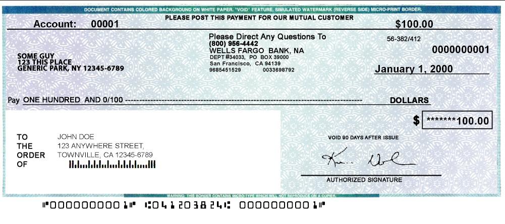 W11lls Fargo Cashiers Check PSD Template – Hack N Frd In Cashiers Check Template For Cashiers Check Template