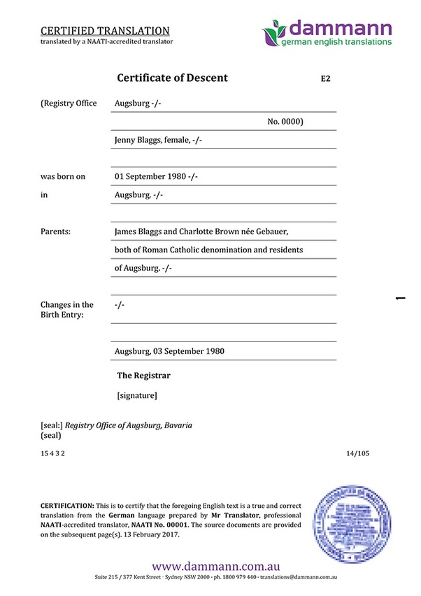Where and how can I translate my birth certificate from Hindi to  Regarding Uscis Birth Certificate Translation Template In Uscis Birth Certificate Translation Template