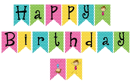 Where to Find Free Printable Banners - AzFreebies In Free Printable Happy Birthday Banner Templates Within Free Printable Happy Birthday Banner Templates
