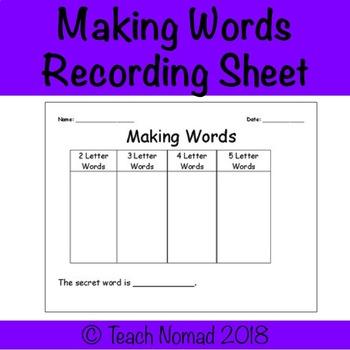 Word Sort Template Worksheets & Teaching Resources  TpT Throughout Words Their Way Blank Sort Template Regarding Words Their Way Blank Sort Template
