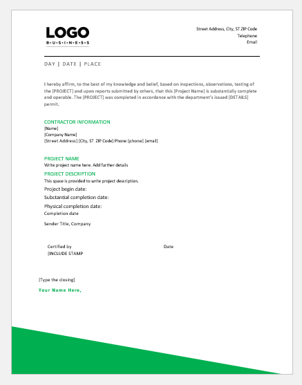 Work Completion Certificate » Extensions Regarding Certificate Of Completion Template Construction For Certificate Of Completion Template Construction