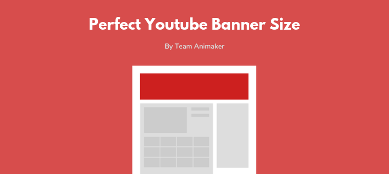 YouTube Banner Size: The Perfect Dimensions in 11(+Templates) Within Youtube Banner Size Template Within Youtube Banner Size Template