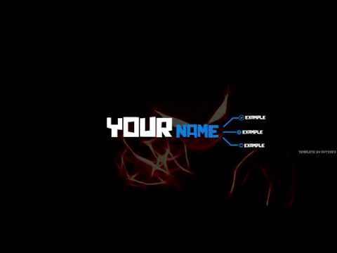 YouTube Banner Template [Gimp] - YouTube Within Gimp Youtube Banner Template With Regard To Gimp Youtube Banner Template