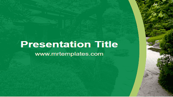 Zen Garden PPT Template - Mr. Templates Throughout Presentation Zen Powerpoint Templates