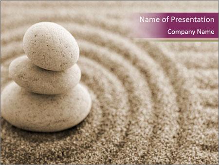 Zen Stones Composition PowerPoint Template & Infographics Slides Pertaining To Presentation Zen Powerpoint Templates Throughout Presentation Zen Powerpoint Templates